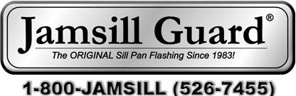 Jamsill Guard® Door & Window Sill Pan Flashing - Sill Pan Flashing for Maximum Weatherproofing Protection.